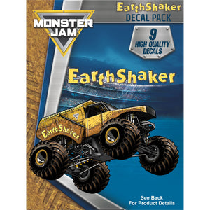 Monster Jam Earth Shaker Decal Pack