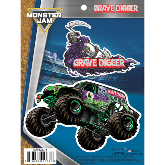 Monster Jam Grave Digger Decals