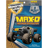 Monster Jam Max-D Decal Pack