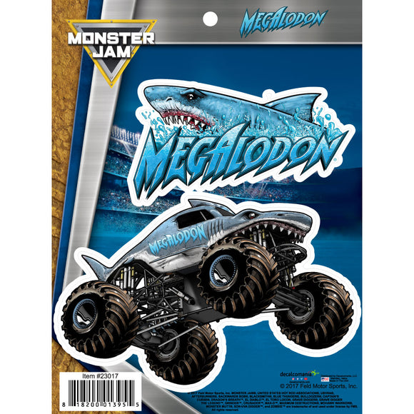 Monster Jam Megalodon Truck Decals Car Stickers