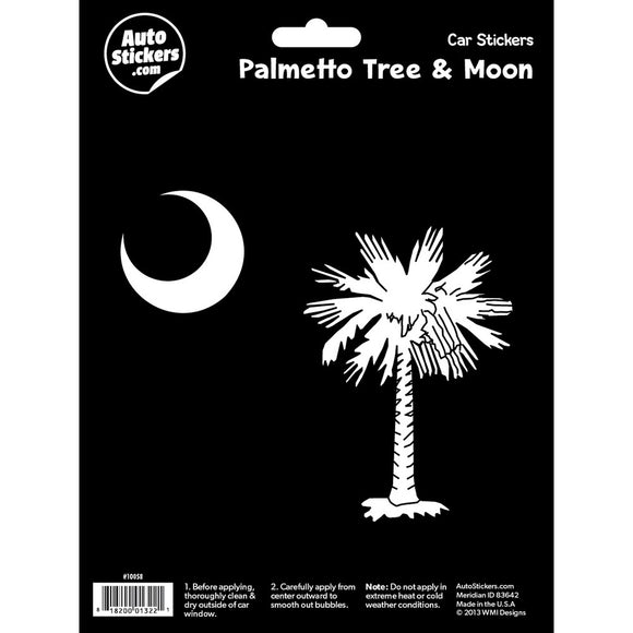 Palmetto Tree & Moon