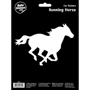 Running Horse Car Sticker Decal