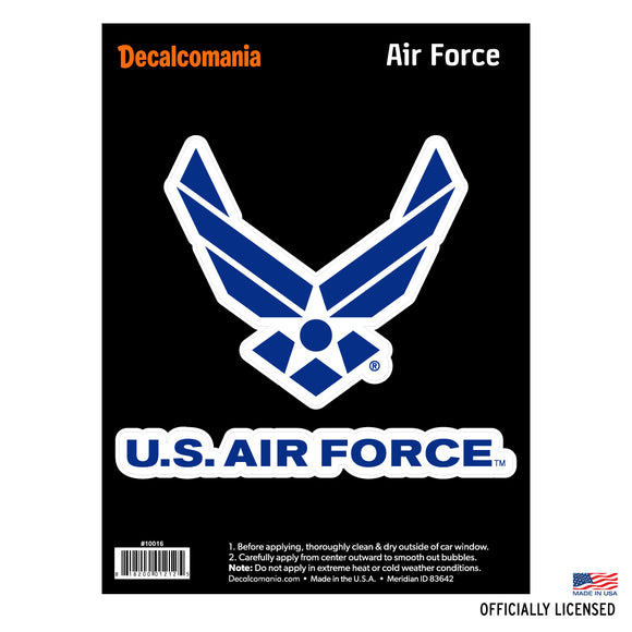 United States Air Force Car Decal