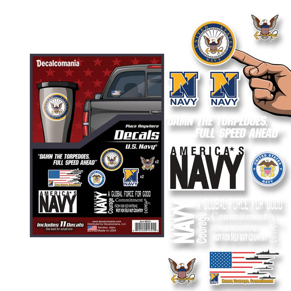 U.S. Navy Decal Pack