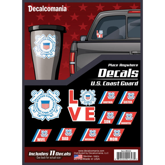 U.S. Coast Guard Decal Pack