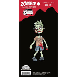 Toddler Boy Zombie