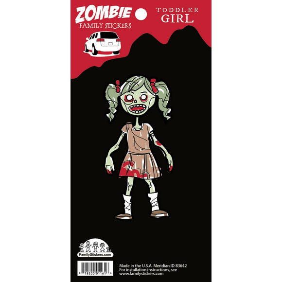 Toddler Girl Zombie