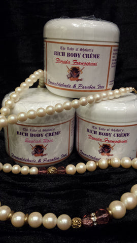 skin care - Luxury Fragrance Rich Body Creme -  - The Lady of Shalott