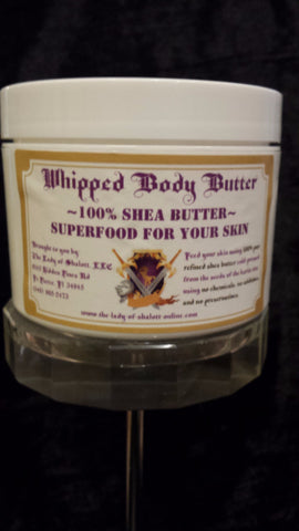 skin care - 100%Shea Whipped Body Butter -  - The Lady of Shalott