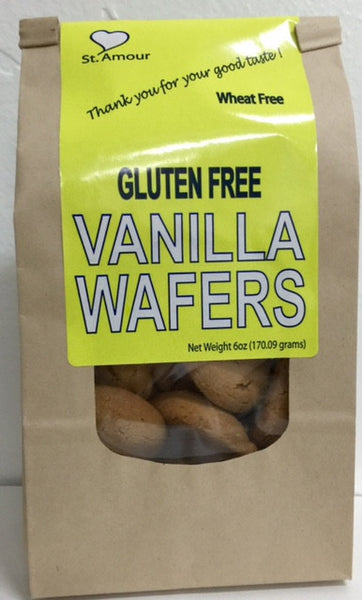 St Amour WAFERS - Vanilla - Gluten Free - Healthy Cookies Direct