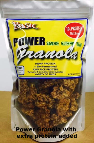 Power Granola - Basic - vegan - Healthy Cookies Direct - 1
