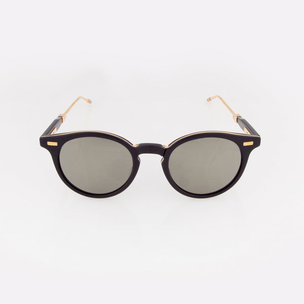 Foldable Round Frame Sunglasses