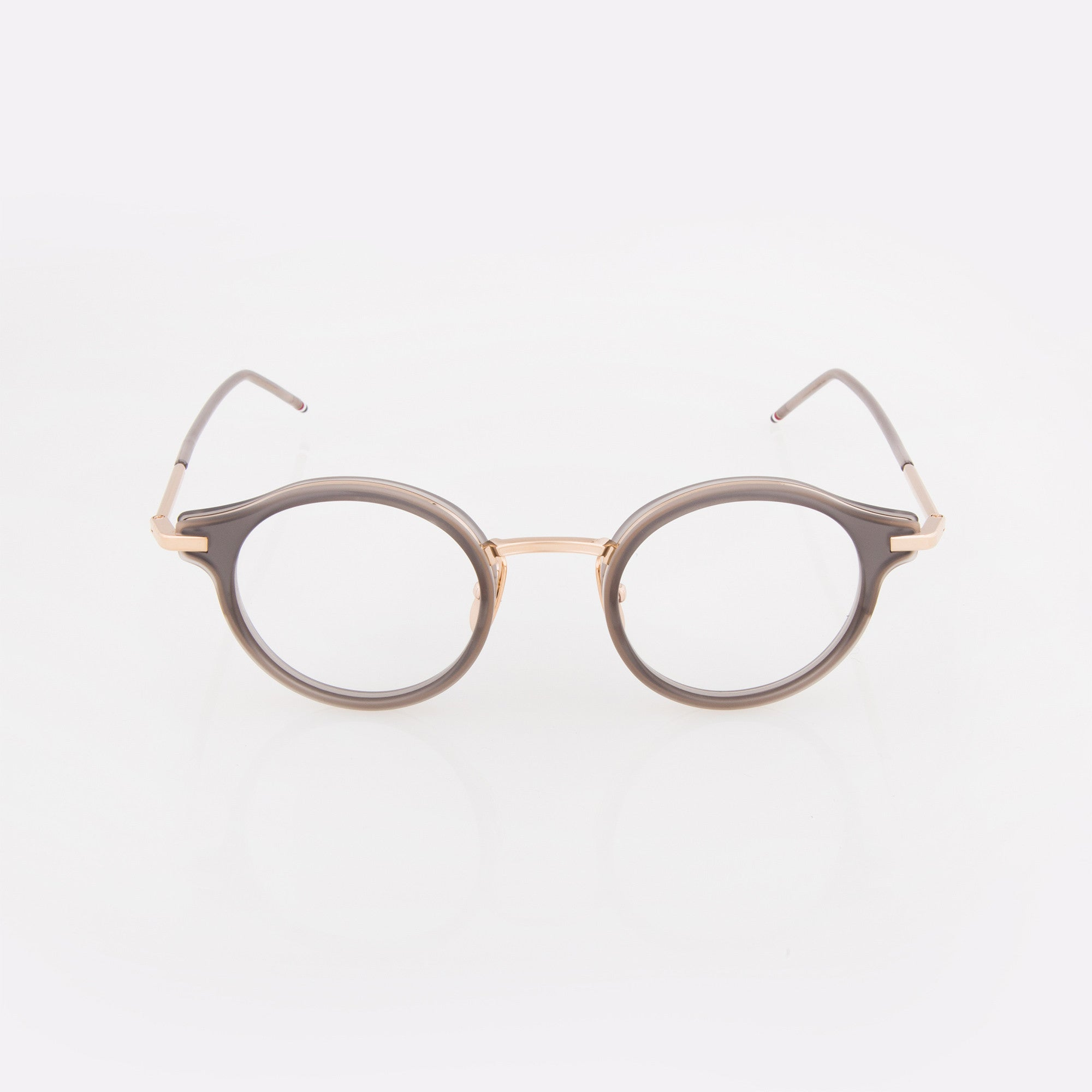 grey silver wire optical glasses - Wire Framed Glasses