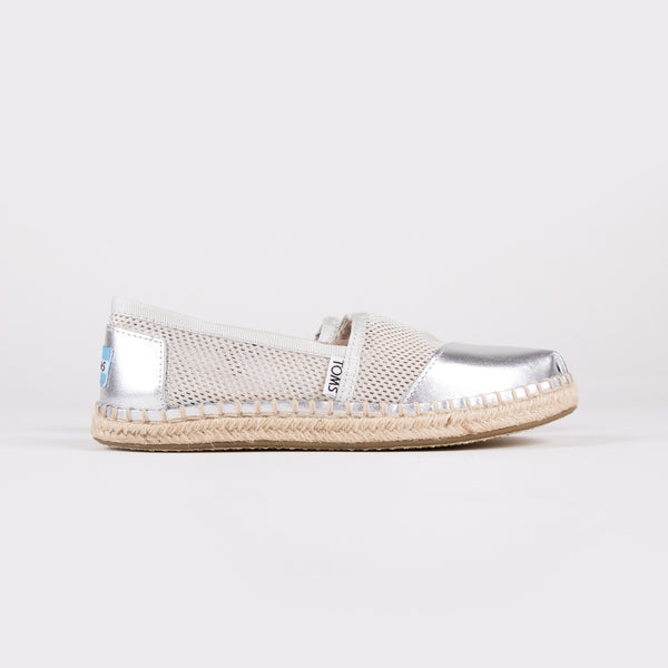 Women's Mesh Espadrille Slip-On
