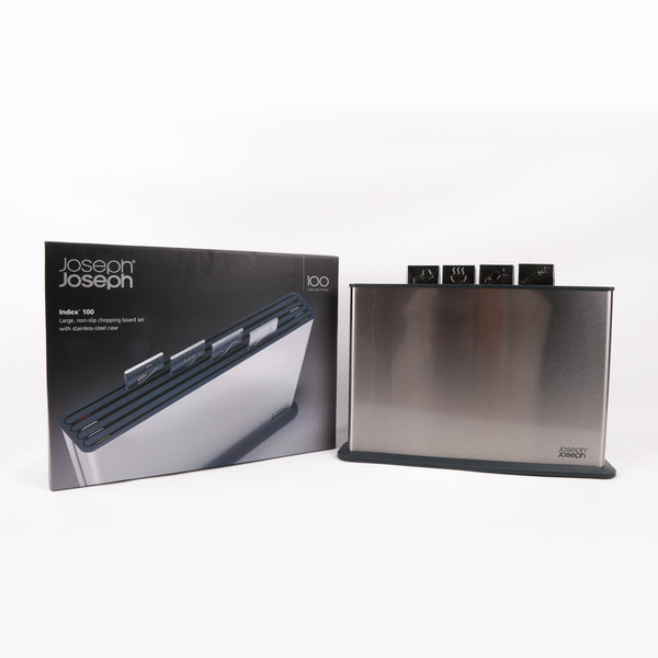 Index™ 100 Cutting Board Set With Steel Case