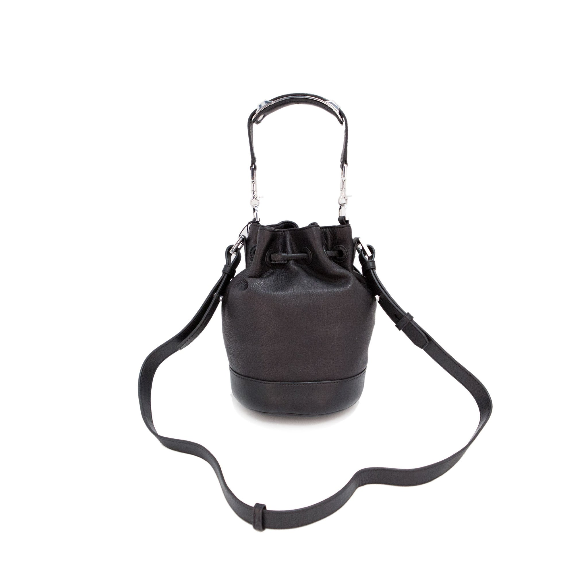 Women's DAFNEY Toffee Leather Mini Bucket Bag