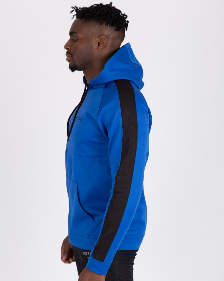 Sports Hoodie - Royal/Black