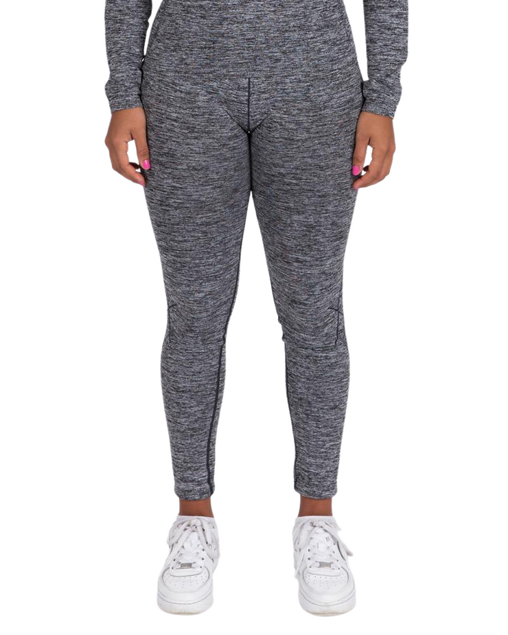 Seamless Sports Leggings - Grey Marl