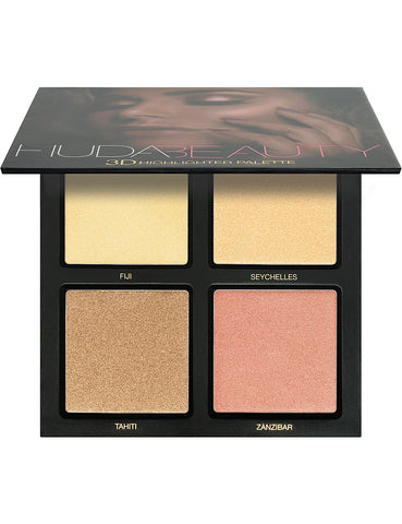 HUDA BEAUTY | 3D HIGHLIGHTER PALETTE – GOLDEN SANDS