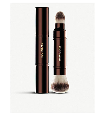 HOURGLASS | Retractable double-ended complexion brush