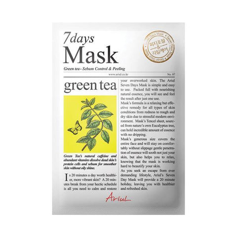 Ariul | 7 Day Mask - Green Tea (Day 1)