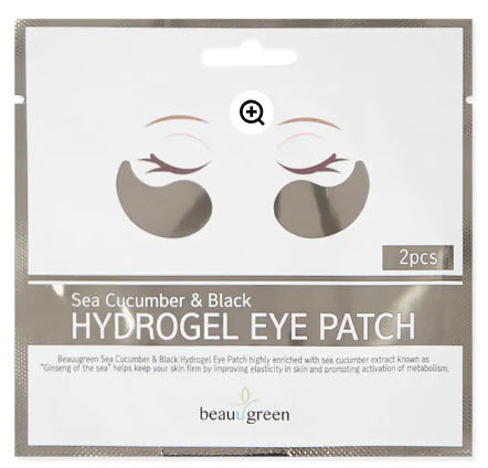 Beauugreen |  Sea Cucumber & Black Hydrogel Eye Patch | 1 Pair