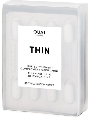 OUAI Thinning Hair Supplement | 30 capsules