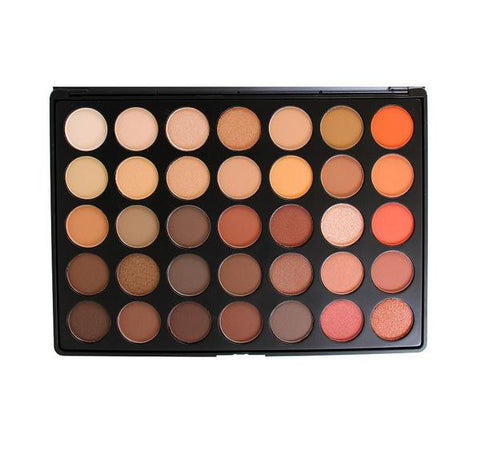 MORPHE 35O NATURE GLOW EYESHADOW PALETTE (Mix of matte and shimmer)