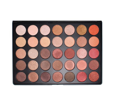 MORPHE |  35OS SHIMMER NATURE GLOW EYESHADOW PALETTE