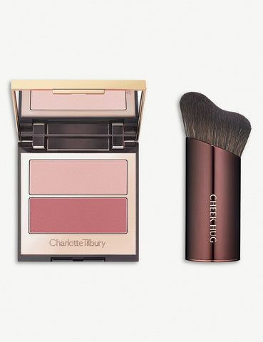 CHARLOTTE TILBURY | Pretty youth glow & cheek hug brush - Seduce Blush