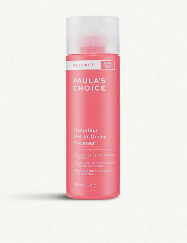 Paula's Choice | DEFENSE HYDRATING GEL-TO-CREAM CLEANSER 200ml
