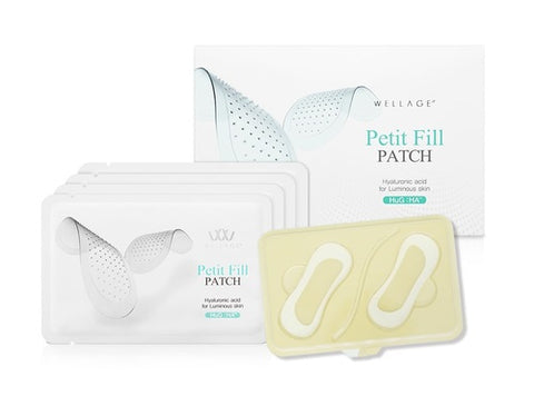 Wellage - Petite Fill Patch Hyaluronic and Lactose Acid