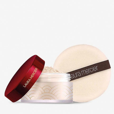 "LAURA MERCIER | Limited Edition ""Set For Luck"" Translucent Setting Powder with Puff 29g"