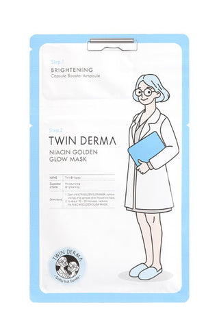 Twin Derma | Niacin Golden Glow Mask
