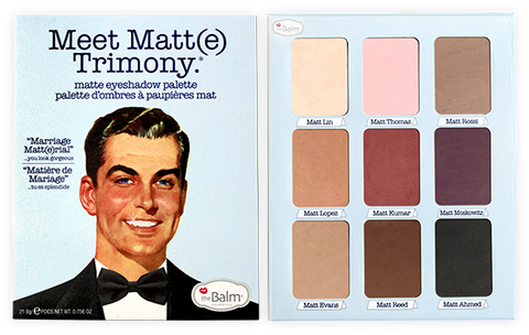 The Balm | Meet Matt(e) Trimony - Matte Eyeshadow Palette