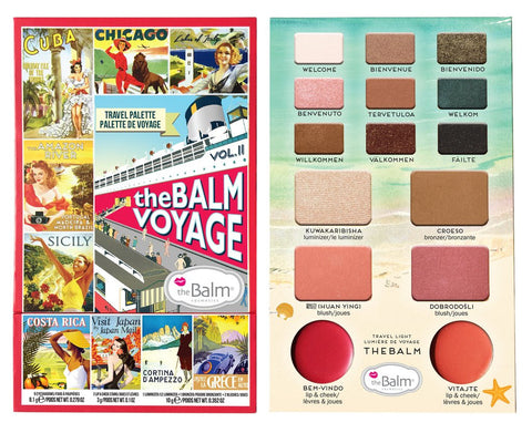 The Balm |  Voyage Vol.2 - Face Palette