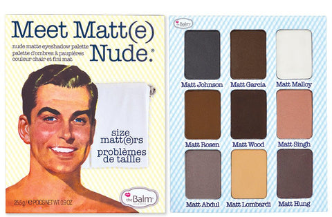 The Balm | Meet Matt(e) Nude - Nude Matte Eyeshadow Palette