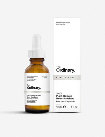 The Ordinary | 100% Plant-Derived Hemi-Squalane (30ml)