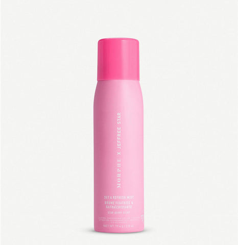 The Jeffree Star set and refresh mist 80ml