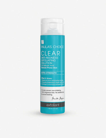 Paula's Choice | CLEAR Extra Strength Anti-Redness Exfoliating Solution With 2% Salicylic Acid 118ml