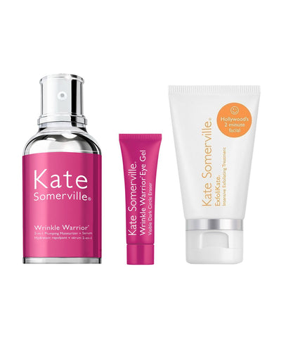 KATE SOMERVILLE | Wrinkle Warrior Kit (50ml, 15ml, 10ml) | Limited Edition
