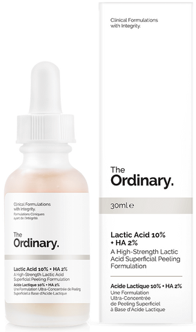 The Ordinary | Lactic Acid 10% + HA 2%
