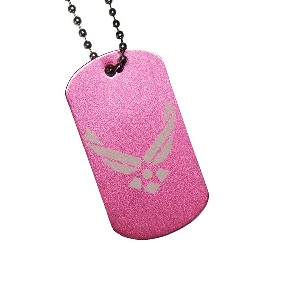 U.S. Airforce Dog Tag with Chain