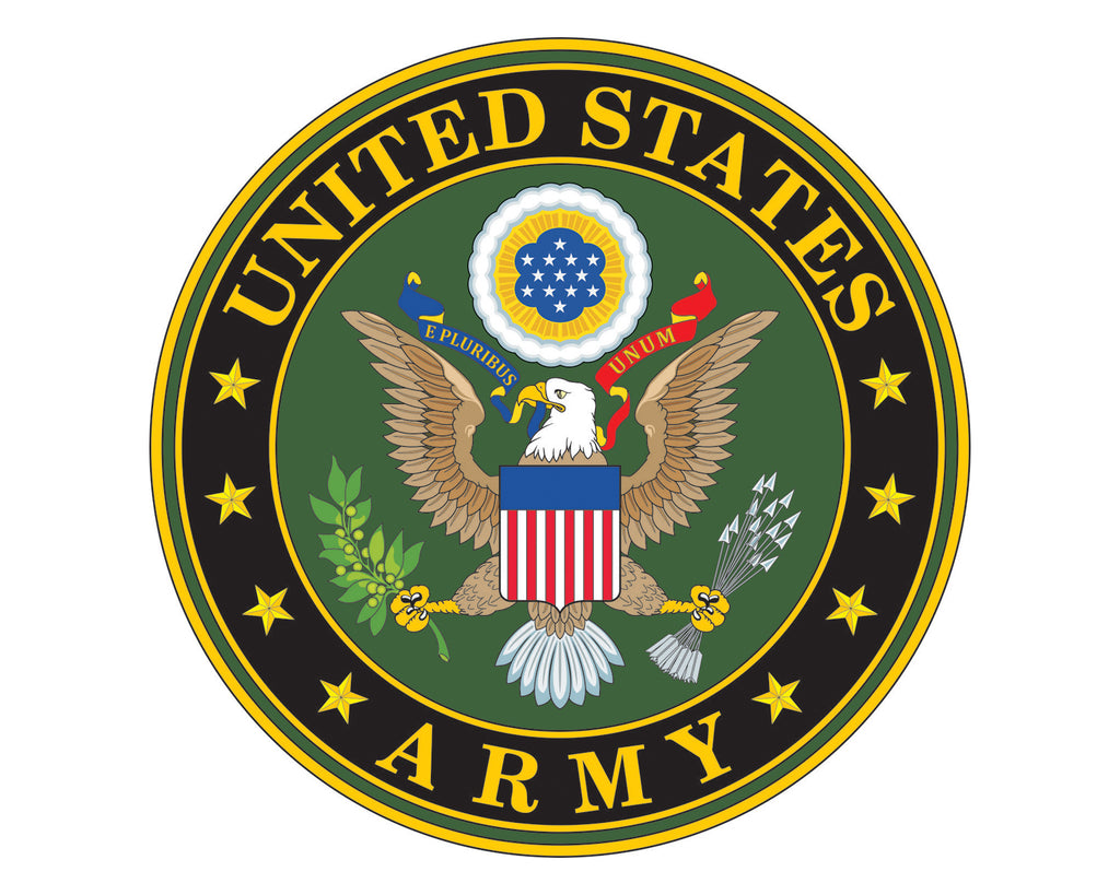 Army Emblem Us Army Logo Vinyl Decal Sticker For Cars Trucks Laptops