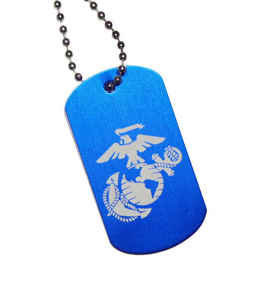USMC EGA Dog Tag with Chain