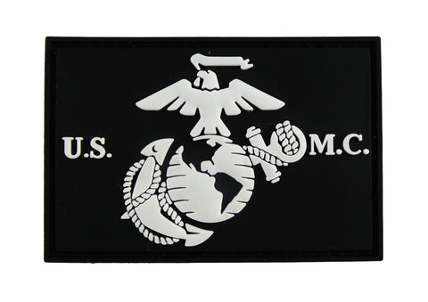 USMC EGA United States Marine Corps 3D PVC Tactical Velcro Morale Tags Patch