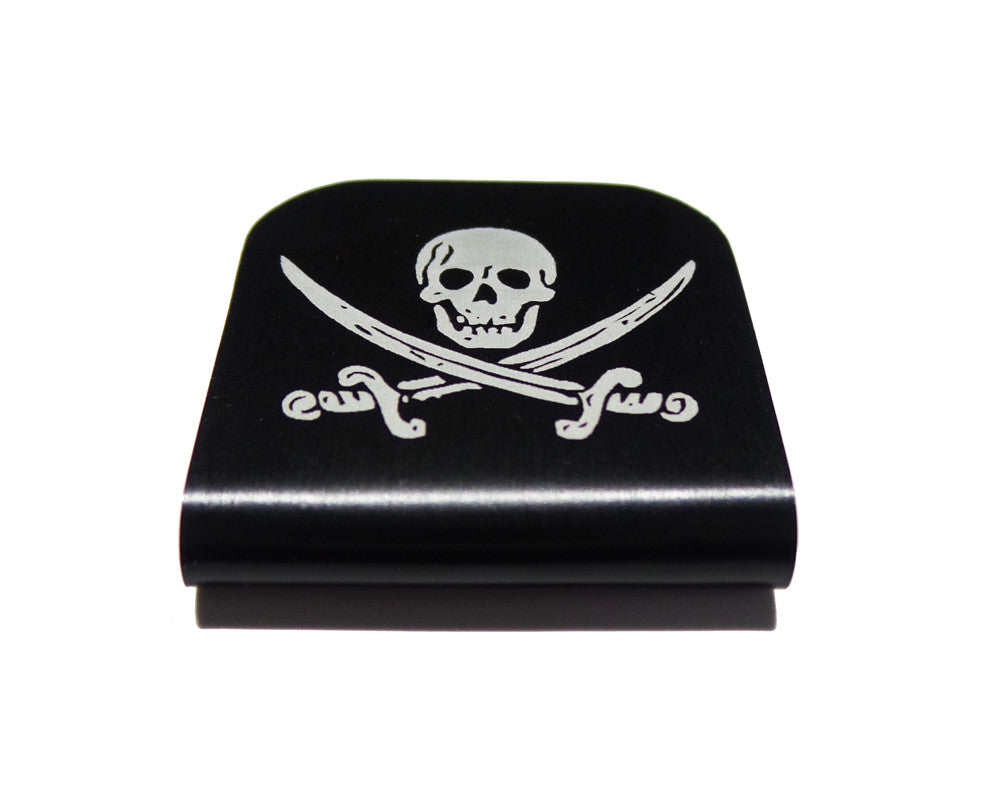 Jolly Roger Pirate Hat Clip