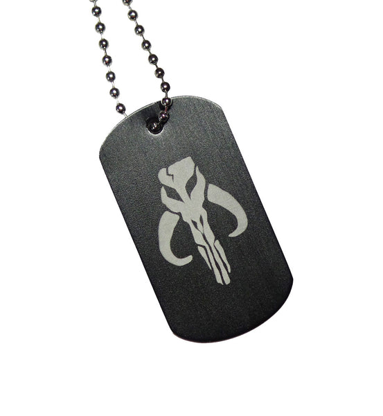 Mandalrian Dog Tag with Chain