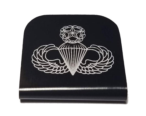 Military Master Jump Wings Hat Clip
