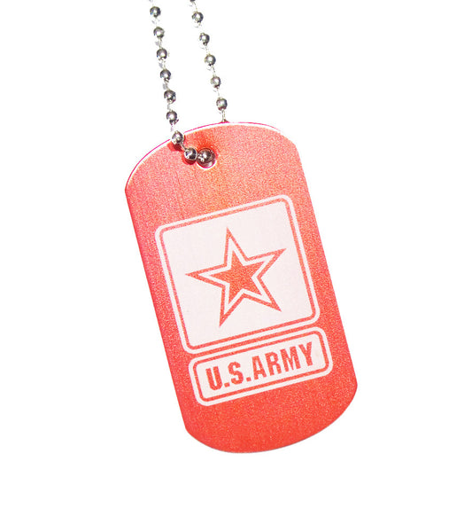 U.S. Army Dog Tag with Chain